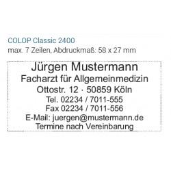 COLOP Ersatzdruckplatte-SET 2400