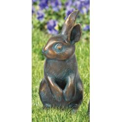 Kaninchen wachsam