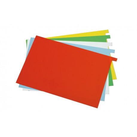Plastik-Einlageblätter DIN A5 für Karteimappen