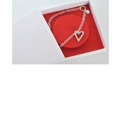 "Silberkette ""Glücksknoten"", Sanja Zivo"
