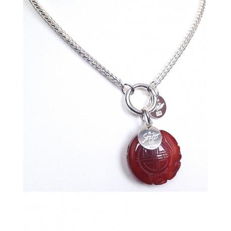 "Silberkette ""Großes Herz"", Sanja Zivo"