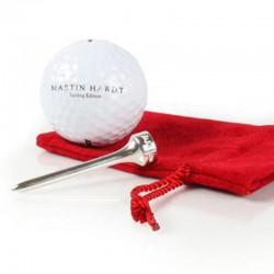 Golf-Tee mit Ball, Martin Hardt