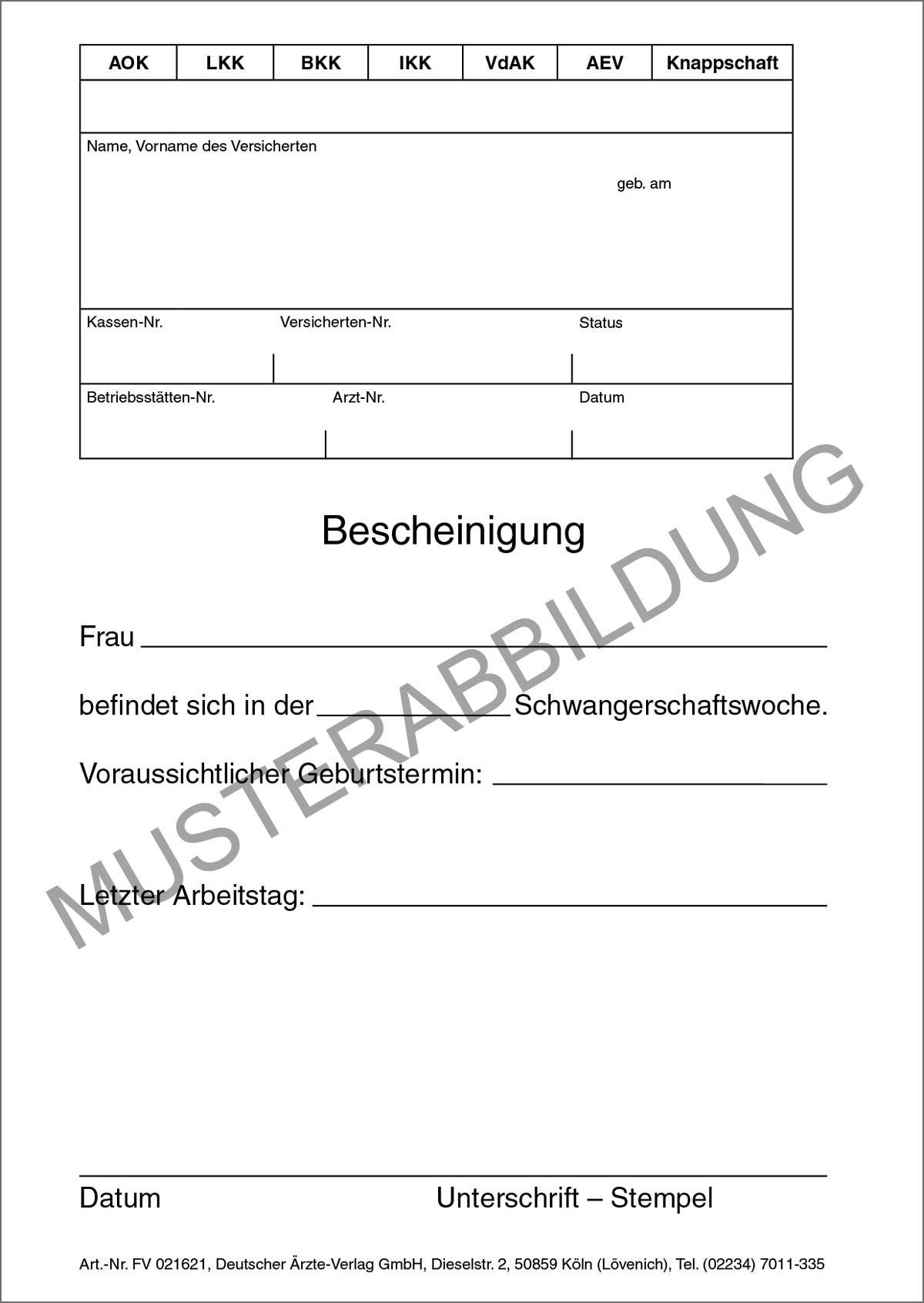 Verordnungen / Termine / Bescheinigungen - Deutscher Ärzteverlag GmbH