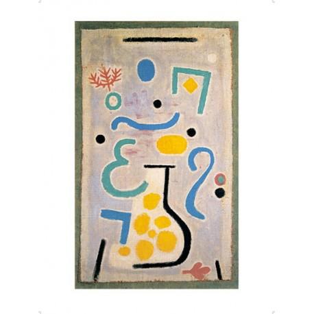 Die Vase, 1938, 122 (J2) Paul Klee