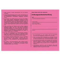 Antikoagulantien-Behandlungsausweis
