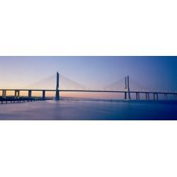 Vasco da Gama-Brücke Lissabon am Abend, Markus Bollen