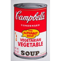 Campbell´s Soup Cans (vegetarian vegetable) , Andy Warhol