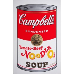 Campbell´s Soup Cans (tomato-beef Noodles O´s) , Andy Warhol