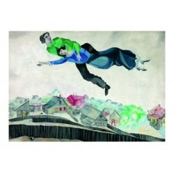 Marc Chagall - Über der Stadt, 1914-1918