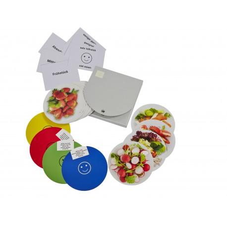 """Teller-Set """"kilokaloriendefinierte Kost"""""""
