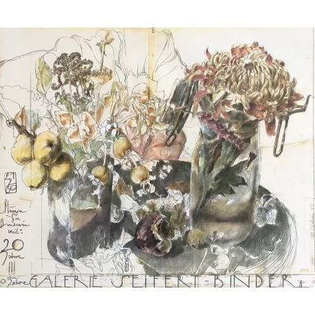 Blumen Seifert-Binder, Horst Janssen