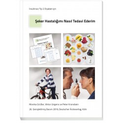 """Türkisches Patientenbuch """"Therapie ohne Insulin"""" - Diyabetimi nasil tedavi ederim?"""