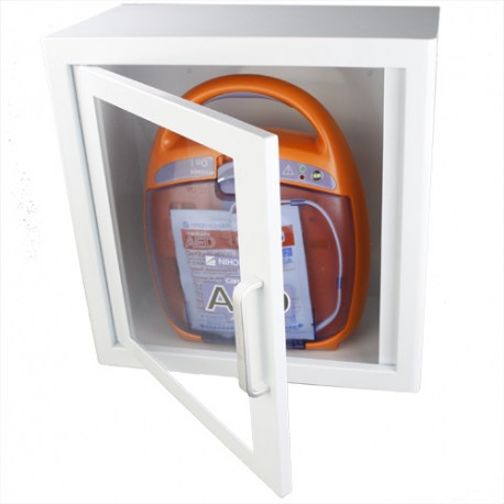 Metallschrank mit AED 3100