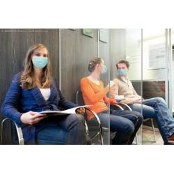 Infektionsschutz-Wand PET