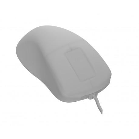 Desinfizierbare PC-Maus mit Touch Scroll (kabelgebunden)