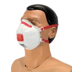 FFP3-Schutzmasken mit Ventil, CAP-Form (10 Stück)