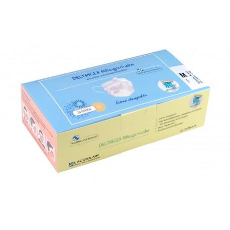 Waschbare Gesichtsmasken (20 Stk.) Made in Germany, Größe M
