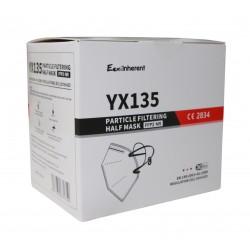 FFP2-Schutzmasken, faltbar, inkl. Clips (30 Stück)