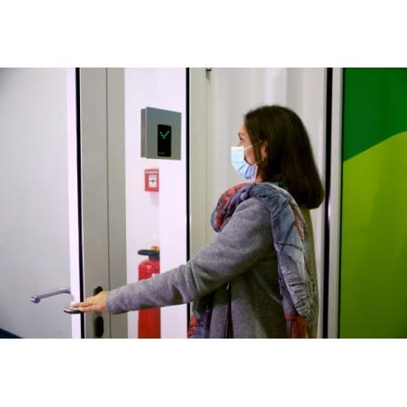 Fiebermessstation Safe Entry © Instamon