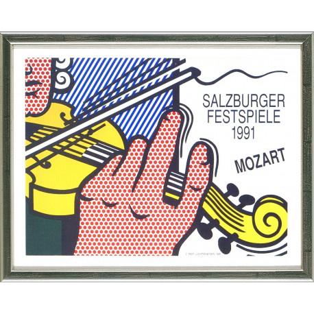 Roy Lichtenstein, Mozart - Salzburger Festspiele, 1991