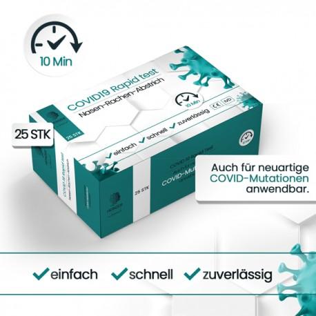 Heinzer Covid-19 Antigen Schnelltest (25Stk.) Professional