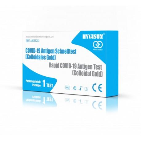 Hygisun Covid-19 Antigen-Selbsttest/ Spucktest für Laientest (10 Stk.)