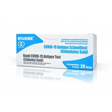 Hygisun Covid-19 3in1 Antigen-Schnelltest (20 Stk.) Professional