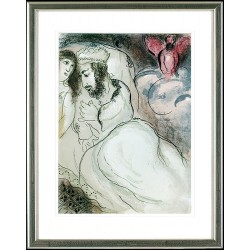 Marc Chagall, Sarah und Abimelech, 1960