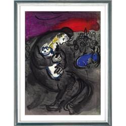 Marc Chagall, Klagelied des Jeremias, 1956