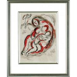 Marc Chagall, Hagar in der Wüste, 1960