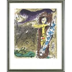 Marc Chagall, Christus in der Pendeluhr, Paris 1957
