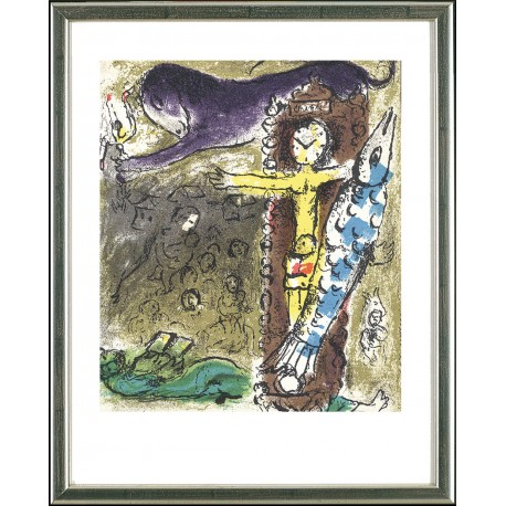 Marc Chagall, Christus in der Pendeluhr, Paris 1957