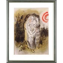 Marc Chagall, Naomi und ihre Schwiegertöchter, 1960