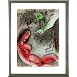 Marc Chagall, Eva wird von Gott verdammt, 1960