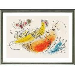 Marc Chagall, Der Akkordeonspieler (L'Accordéoniste), Paris 1957