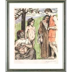 Lovis Corinth, Mutterfreuden, 1911