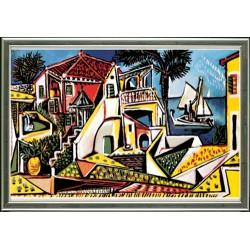 Paysage méditerranéen, Pablo Picasso