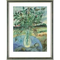 Blumenstrauß mit Disteln, Günter Grass
