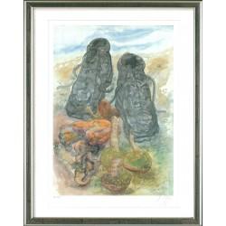Pilze und Schuhe, Günter Grass