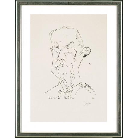 Thomas Mann, Horst Janssen
