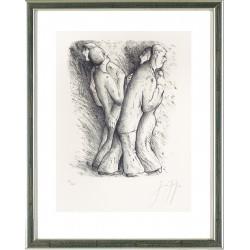 Zwei tanzende Paare, Günter Grass